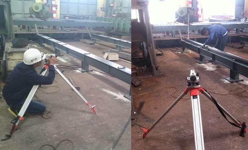 Lắp đặt máy CNC Gas Plasma 2570