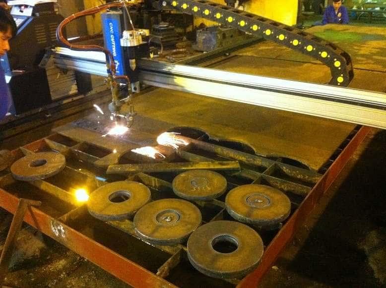 Lắp đặt máy CNC Gas Plasma 2570_10