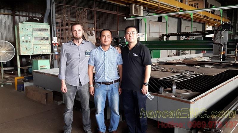 EMC tham gia đào tạo máy cắt CNC Plasma tại Victor Thermal Dynamics