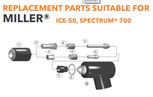 Bép cắt plasma ICE-50 Miler