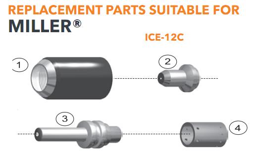 Bép cắt plasma ICE-12C Miler