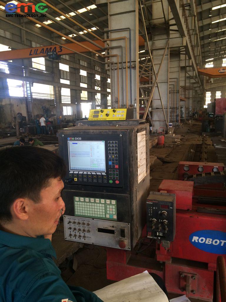 Nâng cấp máy cắt CNC Plasma ở Phú Thọ
