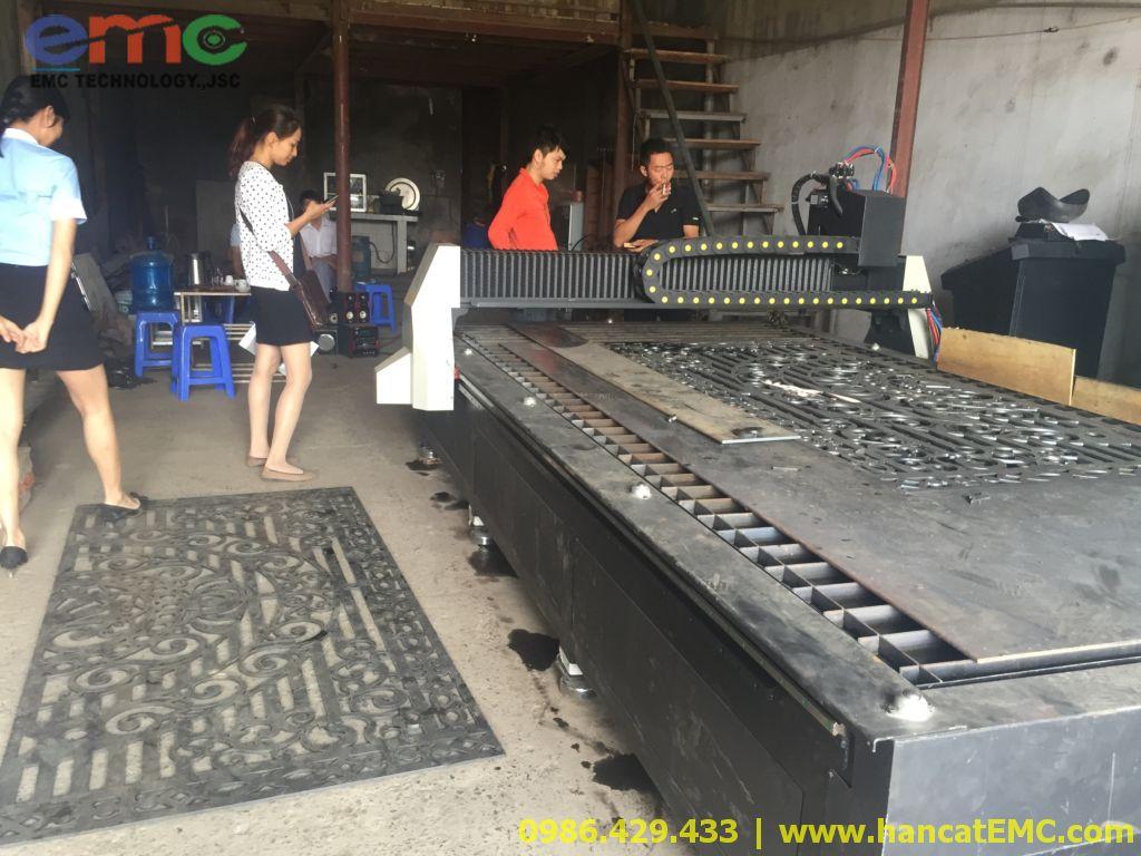 Máy cắt CNC Plasma EMC-2000 ở Hà Đông, Hà Nội