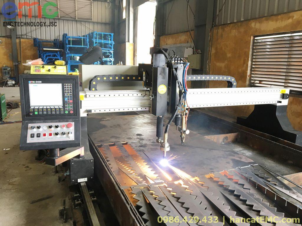 03 Máy cắt CNC Plasma EMC-3000 ở Hưng Yên, Quảng Ninh, Hải Phòng