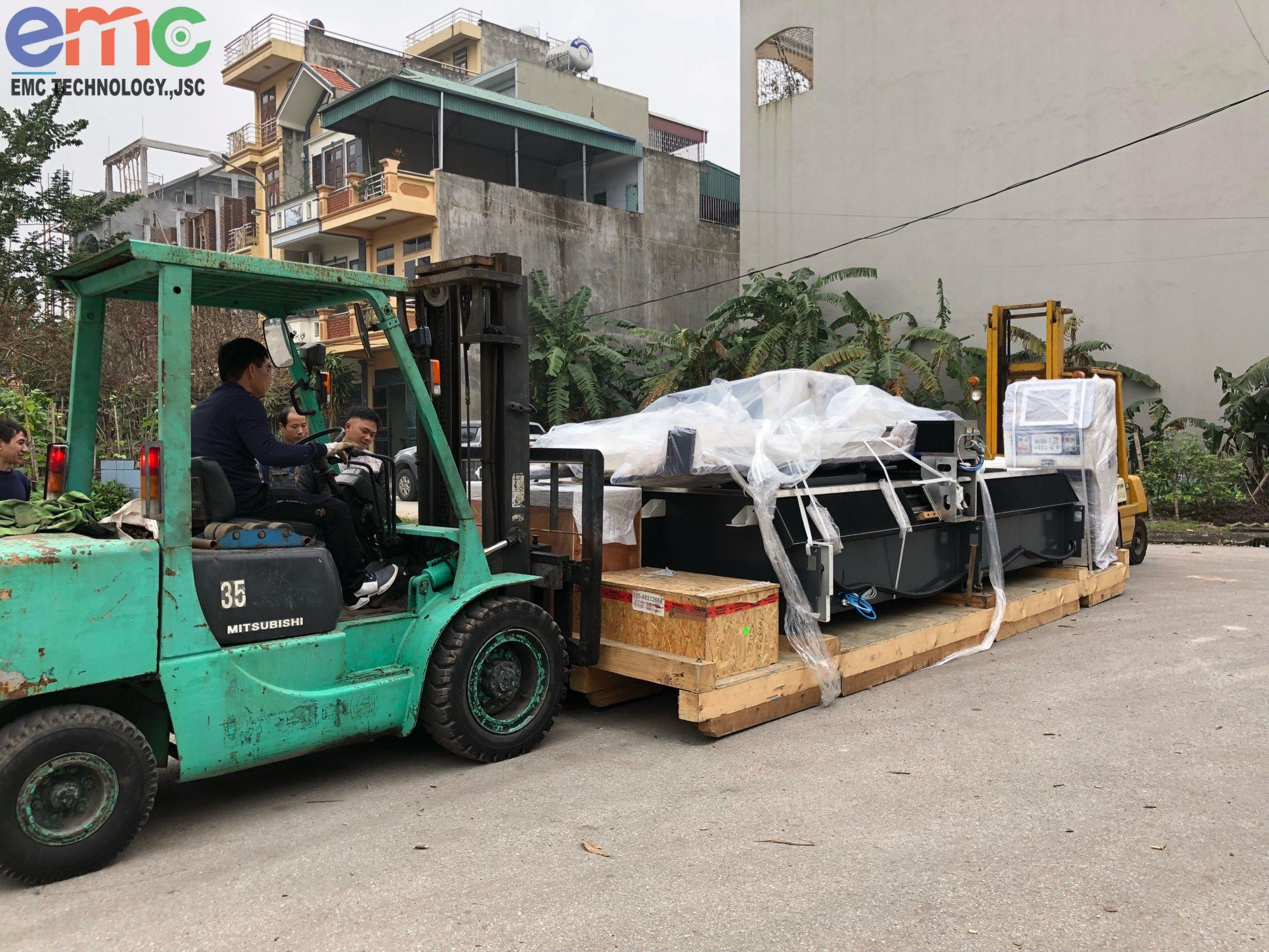 Chuyển máy Laser xuống Nam Định