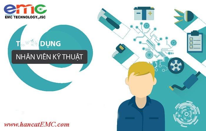 Tuyển dụng nhân viên kỹ thuật/điện tử CNC
