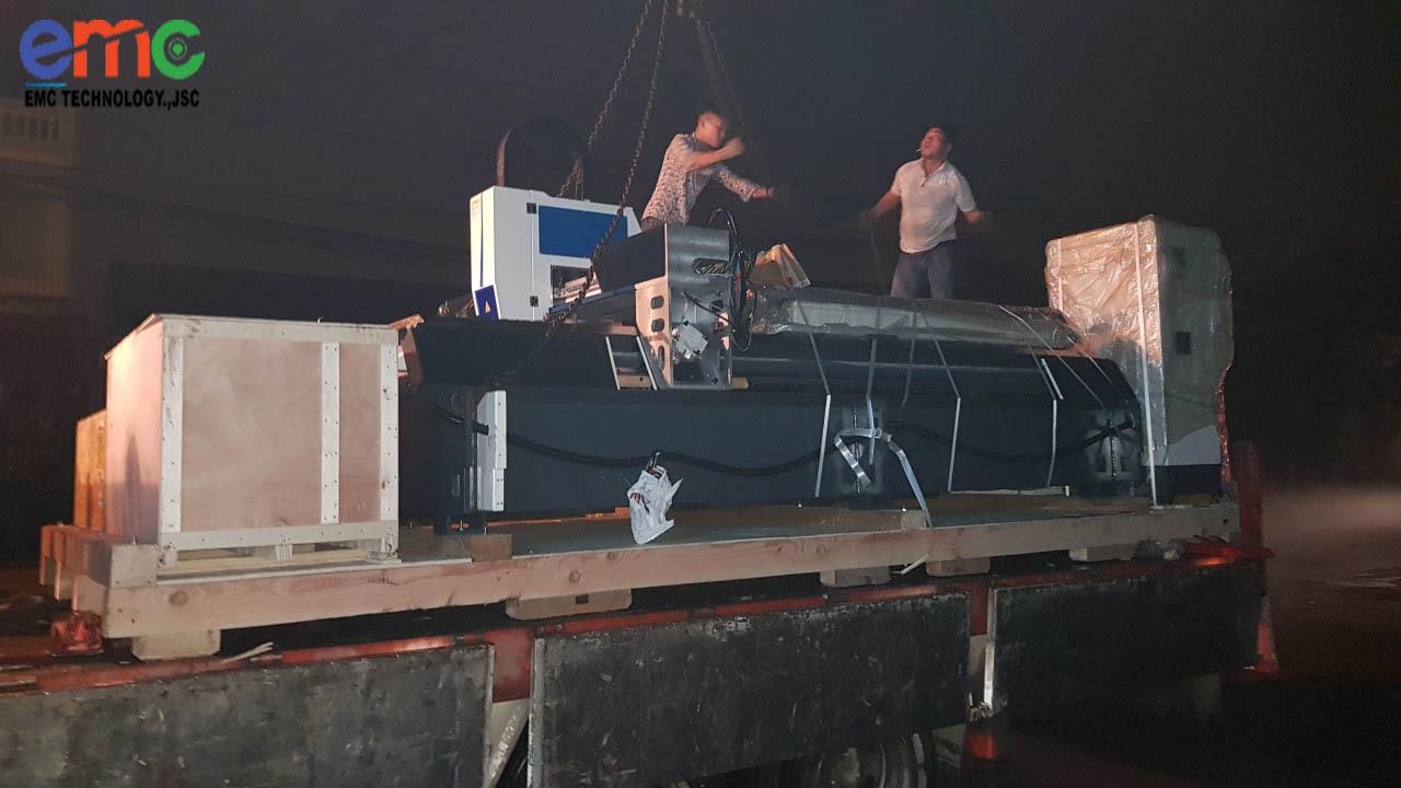 Lắp Đặt Máy Cắt Laser Fiber Thứ 2 Tại Thanh Trì Hà Nội