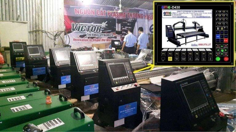 Bộ điều khiển D430 trên máy cắt EMC-2575