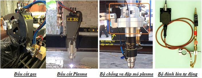 Hệ thống đầu cắt gas plasma