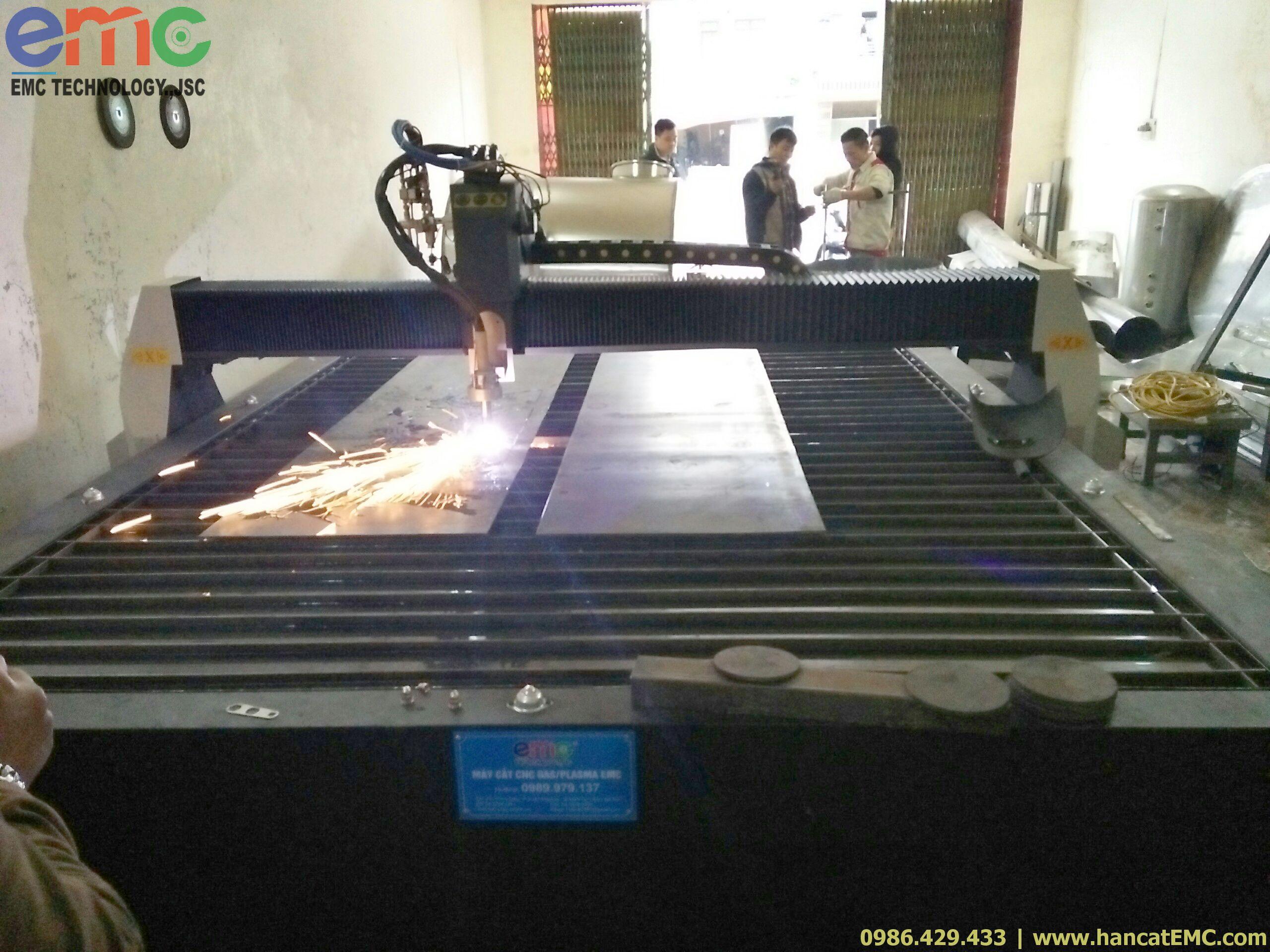 Lắp đặt máy cắt CNC plasma tại Bắc Ninh
