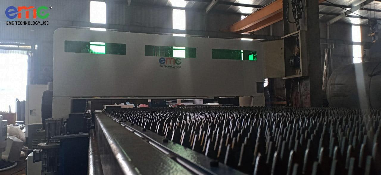 Máy cắt Laser 1530FI lắp đặt tại Đông Anh