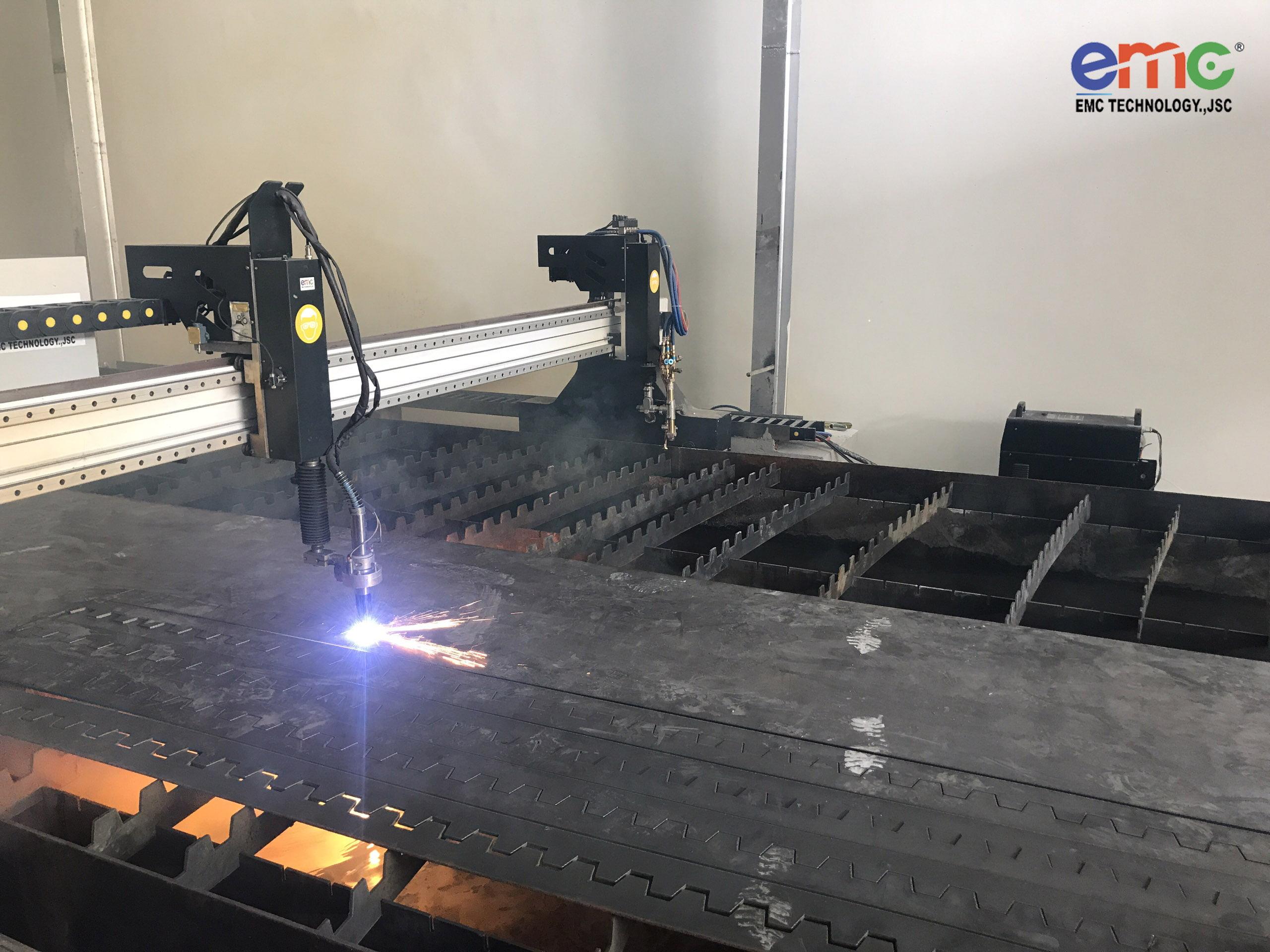 Máy cắt Plasma 3080 lắp đặt tại Tây Ninh