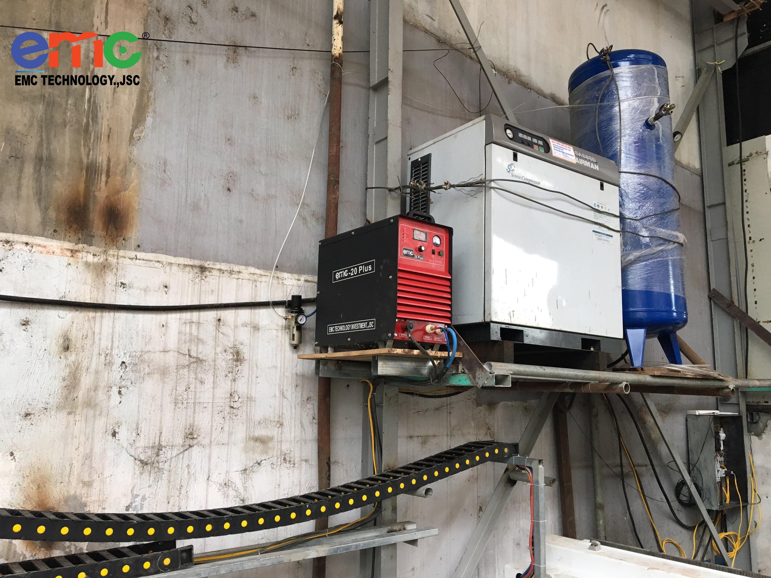 Nguồn cắt 20 plus máy cnc plasma emc 3000