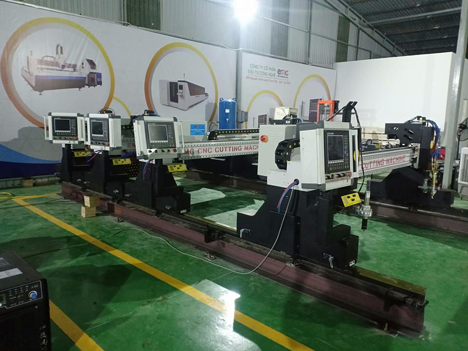 máy cắt cnc plasma emc 3000 tại chi nhánh emc sài gòn