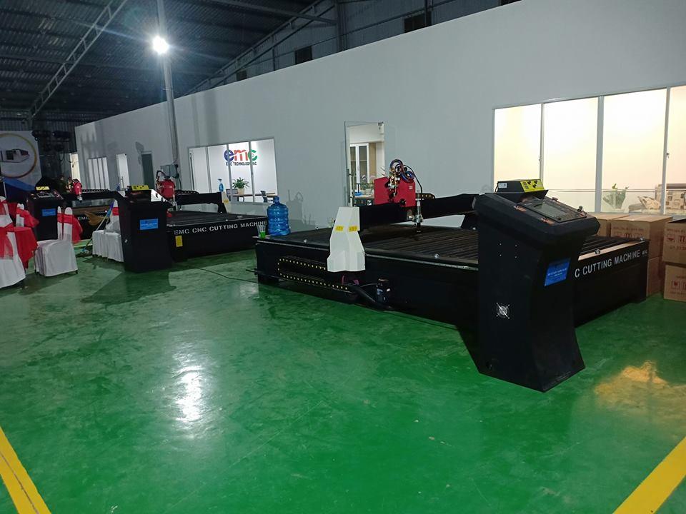 Các dòng máy cnc plasma EMC 2000 tại chi nhánh sài gòn
