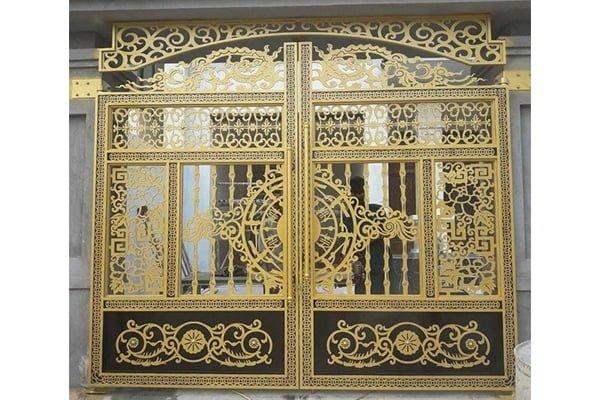 15 mẫu cửa cổng sắt hiện đại hiện nay