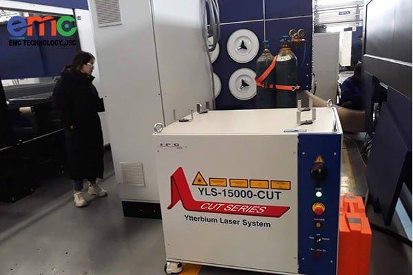máy cắt penta fiber laser tại nhà máy en.el