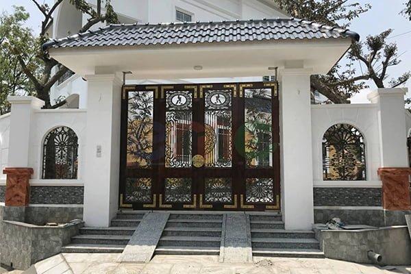 mẫu cửa cổng đẹp 2019