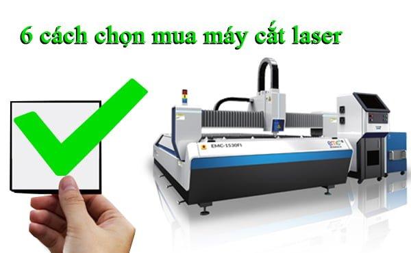 6 cách chọn mua máy cắt laser