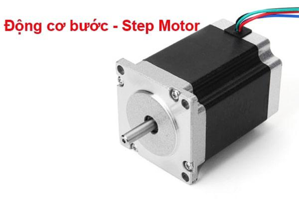 Động cơ bước sử dụng trong máy cnc