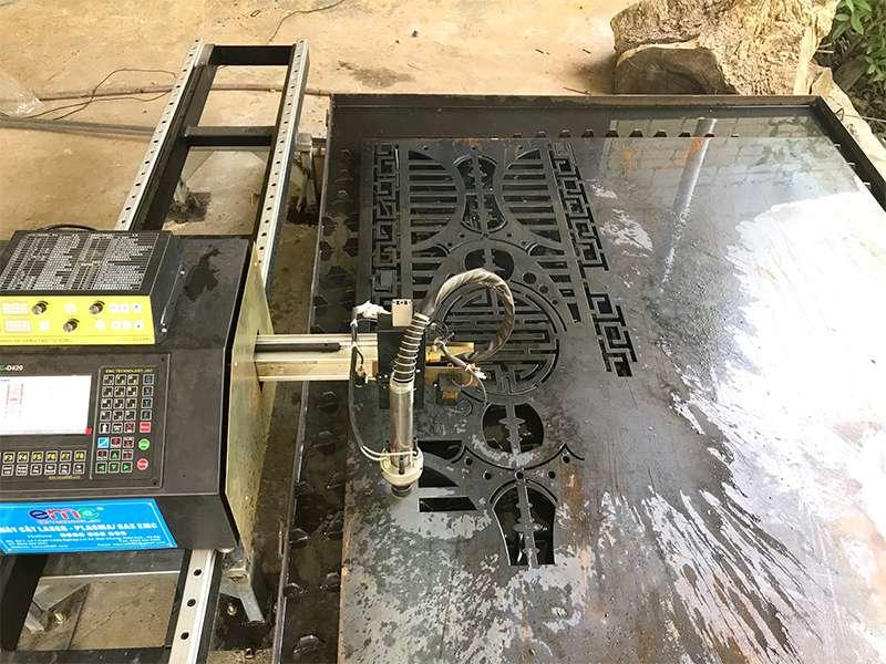 lắp đặt máy cắt cnc Plasma EMC-1500 tại Quảng Nam