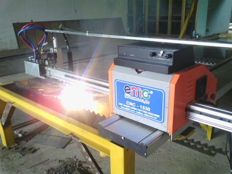 Lắp đặt máy cắt cnc Plasma EMC-1530 tại Ninh Bình