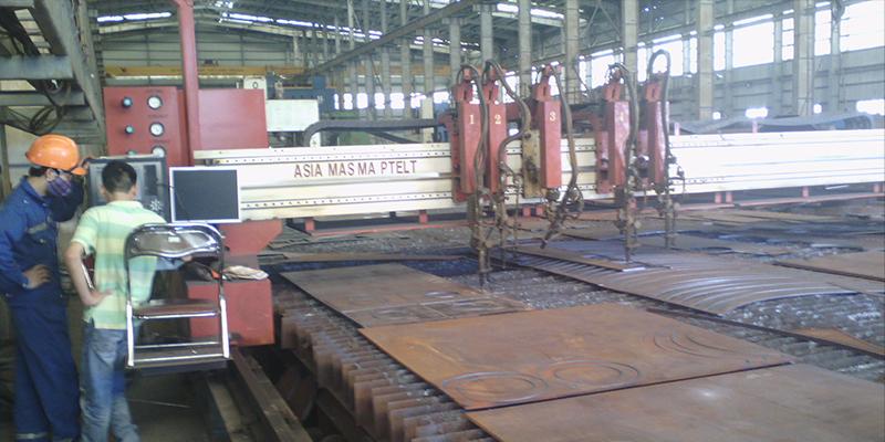 Nâng cấp máy cắt CNC Oxy Gas tại nhà máy Vinashin Hải Dương