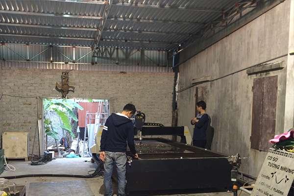 Máy cắt cnc hoa văn EMC-2000 tại Nghệ An