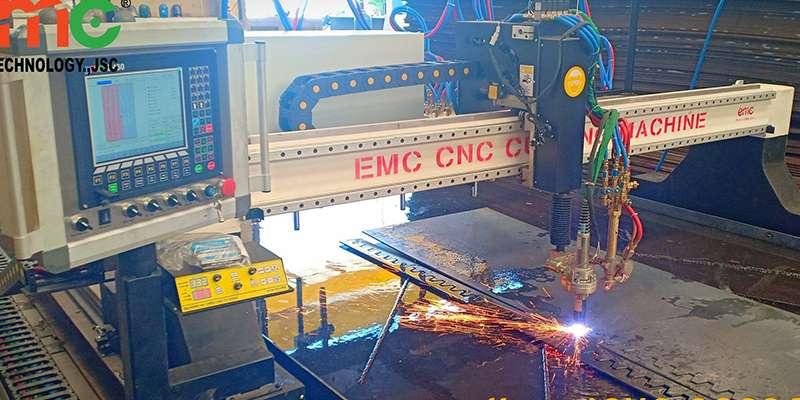 Lắp đặt 1 máy cắt EMC-3000 tại Bình Dương