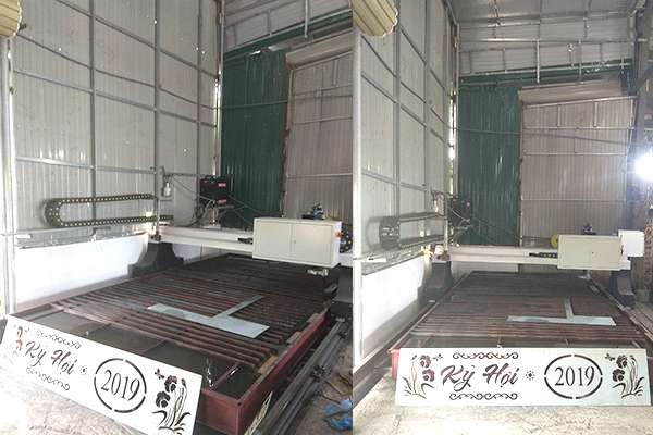 Lắp đặt 1 máy cắt EMC-3000 tại Nghệ An