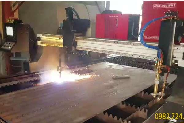 Lắp đặt 1 máy cắt EMC-3000 tại Đông Anh - Hà Nội
