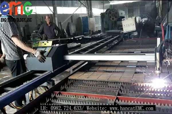 Máy cắt Plasma CNC EMC-1500pro tại Vũng Tàu