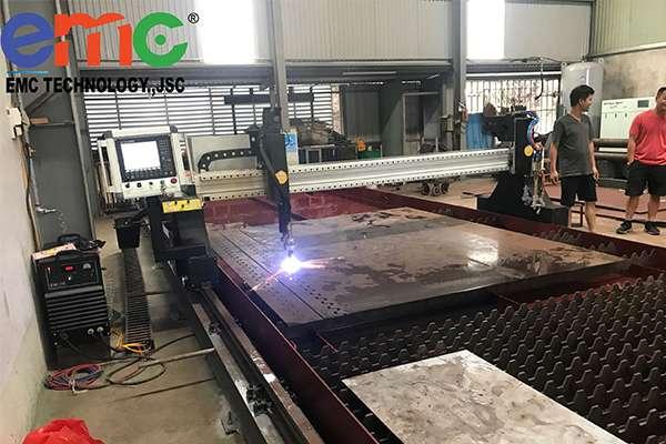 Máy cắt Plasma CNC EMC-3000 tại Nam Định