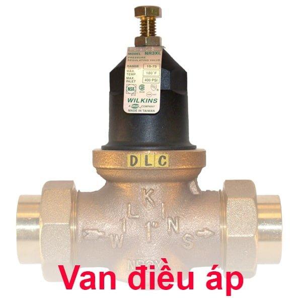van điều áp giảm áp nước khí