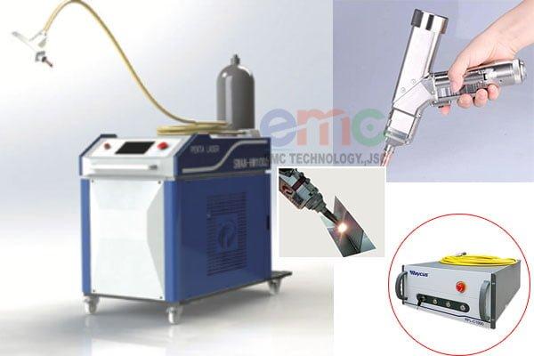 cấu tạo máy hàn laser fiber cầm tay