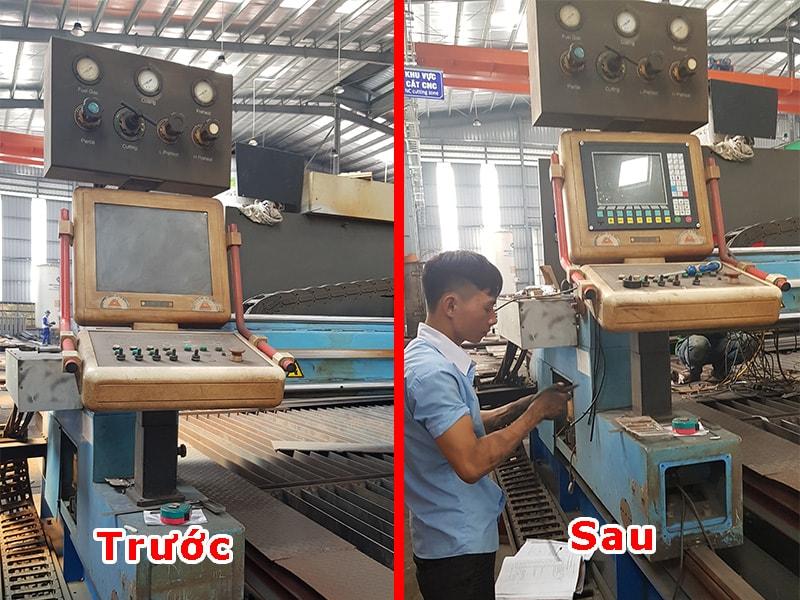 Nâng cấp máy CNC Plasma cho kết cấu thép Minh Cường