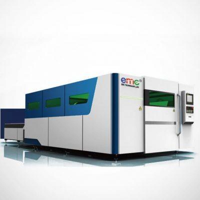 Máy cắt CNC Laser Fiber 2 bàn EMC-2060DF