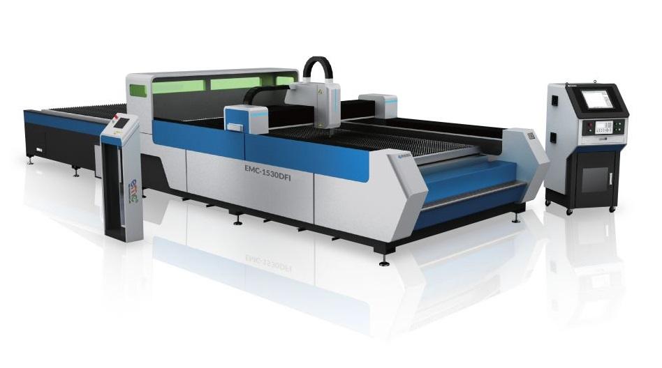 Máy Cắt CNC Laser Fiber Bàn Đôi (dòng D - không bao che)