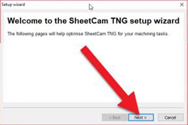 cấu hình sheetcam