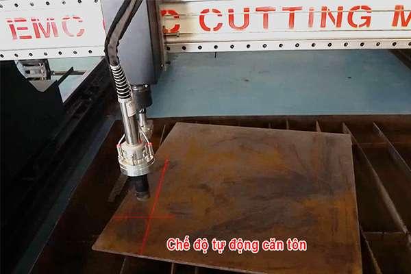 Chế độ căn tôn thông minh của máy cắt plasma cnc