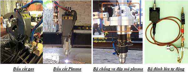 Hệ thống bàn cắt máy hoa văn cnc plasma