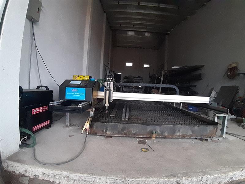 Lắp đặt máy cắt Plasma EMC-1600 tại Vĩnh Phúc.