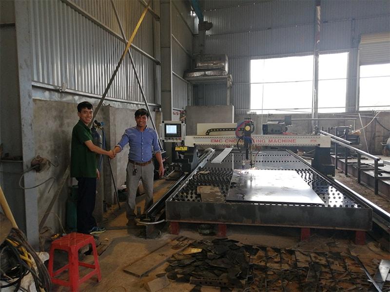 Máy Cắt Plasma EMC-3000 Tại Thái Nguyên