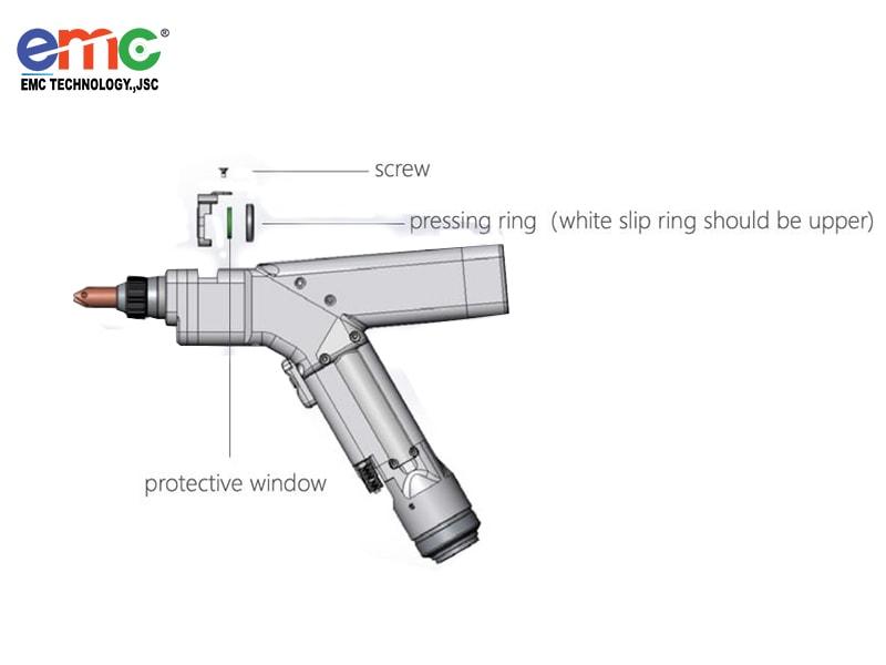 cấu tạo của mỏ hàn laser fiber cầm tay