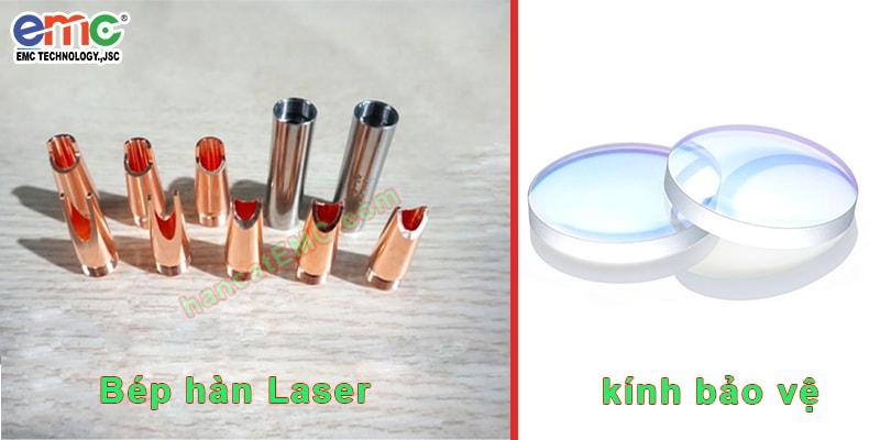 phụ kiện kèm theo máy hàn laser