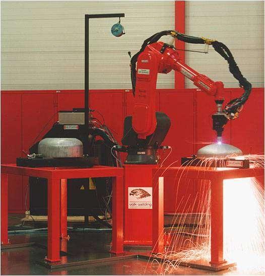 Mỏ cắt plasma với robot