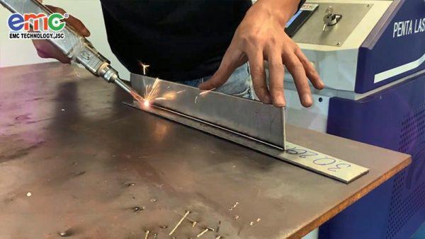 sản phẩm hàn laser fiber kim loại