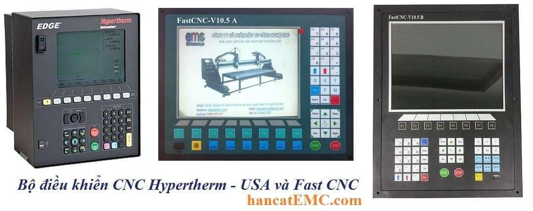 Bộ điều khiển CNC Hypertherm – USA và Fast CNC