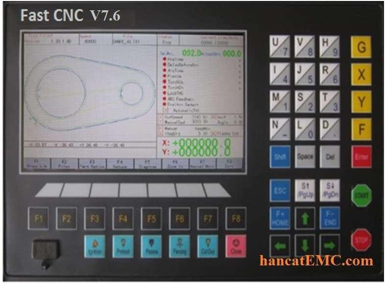 FastCNC V7.6 trên máy cắt CNC EMC