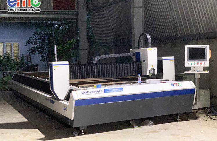 Hải Phòng: bàn giao máy cắt Laser Fiber tại Thuỷ Nguyên